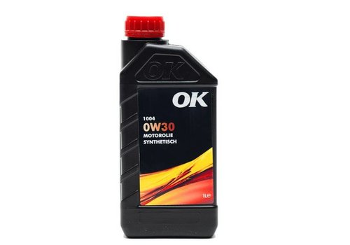 OK Olie 0W-30 motorolie 1004-0W30, can 1 liter