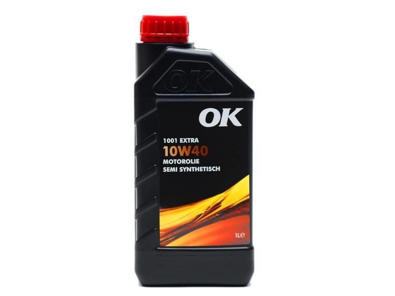 OK Olie 10W-40 motorolie 1001 Extra, doos, 12x1 liter