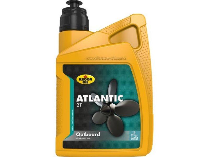 Kroon Oil Atlantic 2T - Buitenboordmotor olie, 1 lt