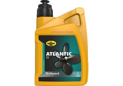 Kroon Oil Atlantic 2T - Buitenboordmotor olie, 12 x 1 lt