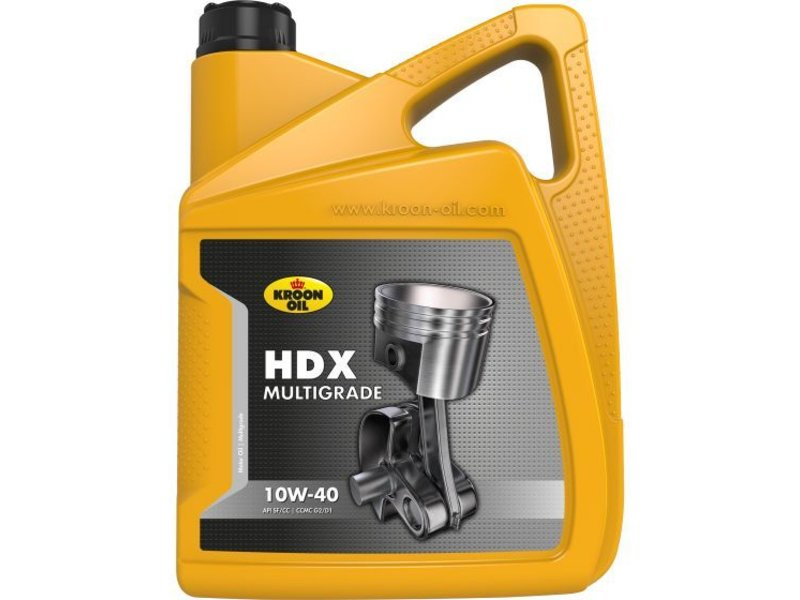 Kroon Oil Motorolie HDX 10W40, 5 ltr