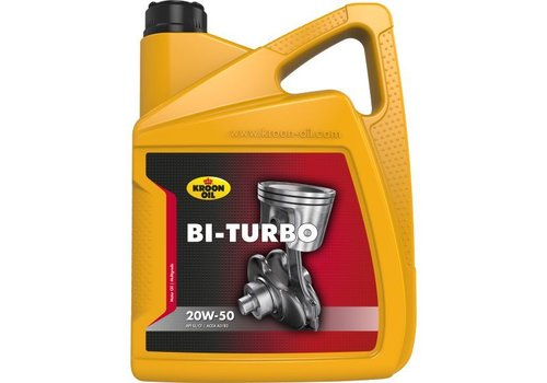 Kroon Oil Motorolie Bi-Turbo 20W50, 5 ltr