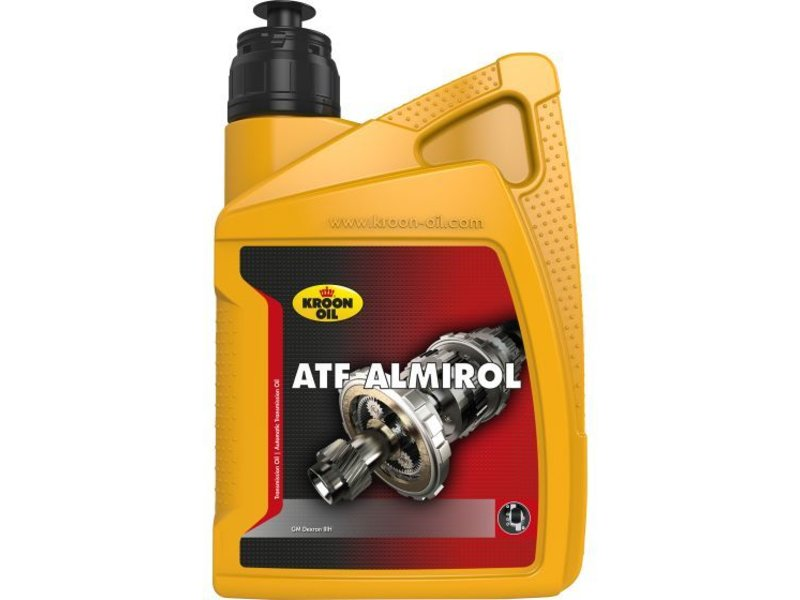 Kroon Oil ATF Almirol transmissieolie, 1 liter flacon
