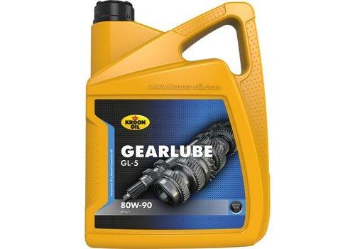 Kroon Oil Gearlube GL-5 80W-90 - Versnellingsbakolie, 5 lt