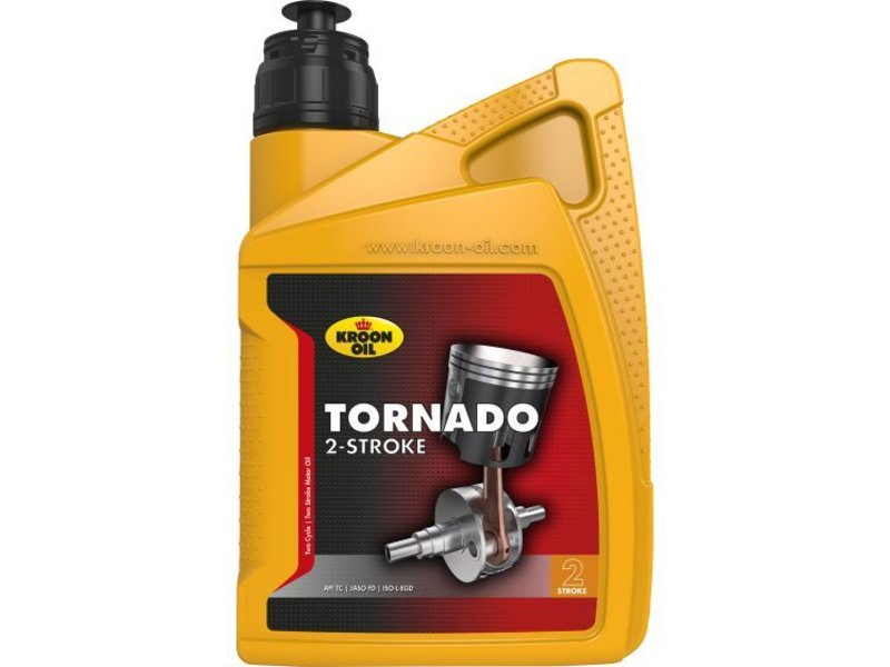 Kroon Oil Tornado 2-takt - Motorfietsolie, 1 lt