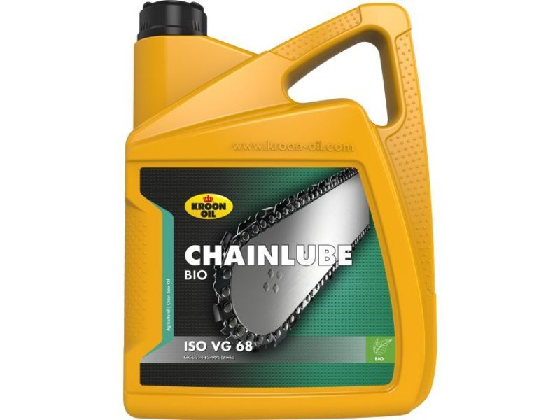 Kroon Oil Chainlube Bio - Kettingzaagolie, 4 x 5 lt