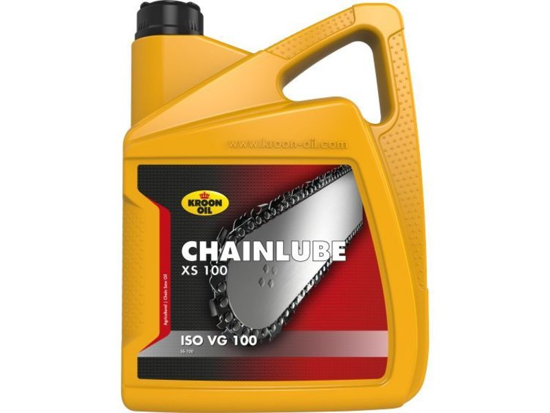 Kroon Oil Chainlube XS 100 - Kettingzaagolie, 4 x 5 lt