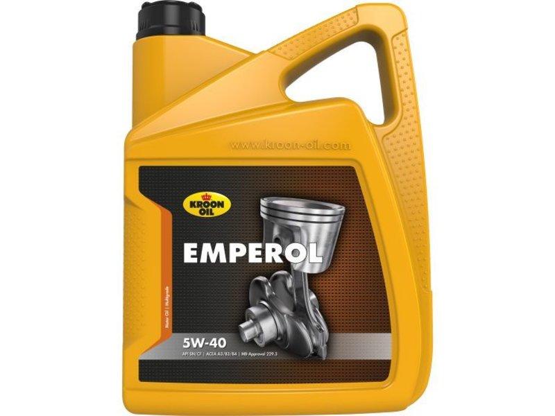 Kroon Oil Motorolie Emperol 5W40, 5 ltr