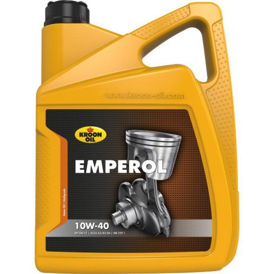 10W40 motorolie Emperol, 5 liter-1