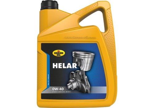 Kroon Oil Motorolie Helar 0W40, doos, 4 x 5 ltr flacon can