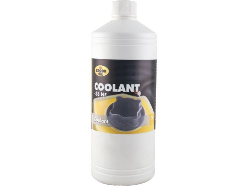 Kroon Oil Koelvloeistof Coolant -38 Organic NF, 1 liter flacon
