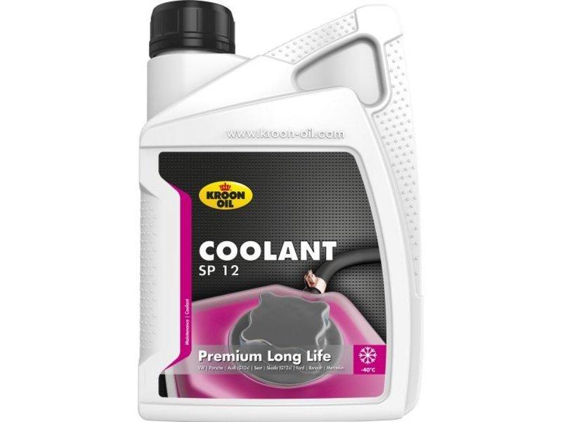 Kroon Oil Koelvloeistof Coolant SP 12, 1 liter flacon