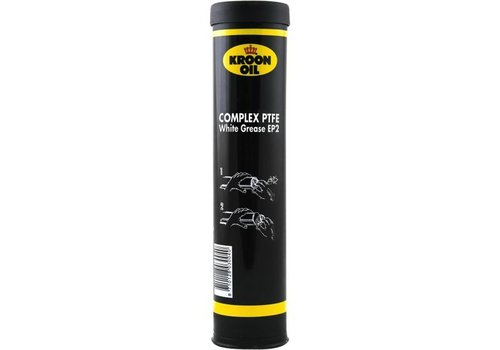 Kroon Oil PTFE White Grease EP2, 400 gr