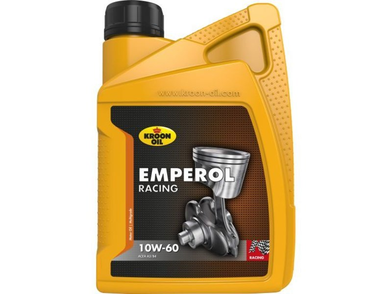 Kroon Oil Motorolie Emperol Racing 10W60, 1 ltr