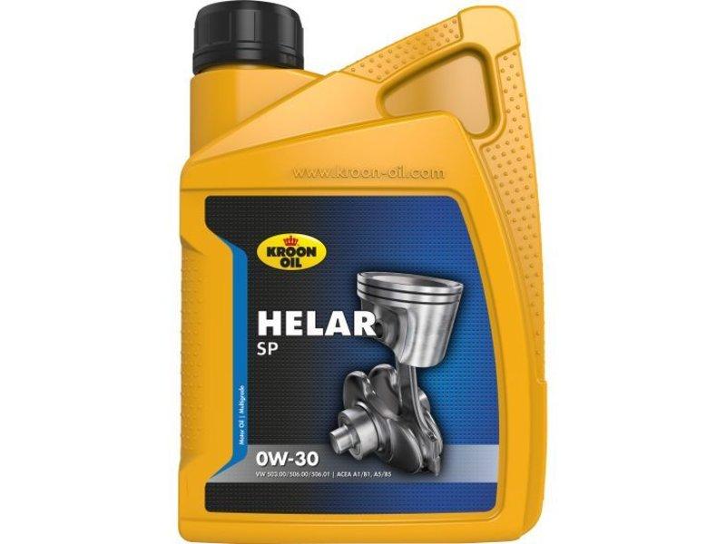 Kroon Oil Motorolie Helar SP 0W30, 1 ltr