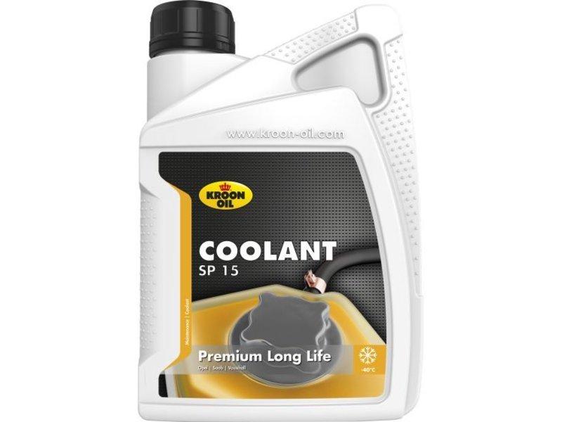 Kroon Oil Koelvloeistof Coolant SP 15, 1 liter flacon