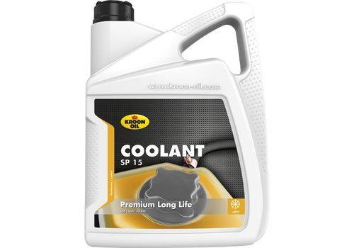 Kroon Oil Koelvloeistof Coolant SP 15, 5 liter