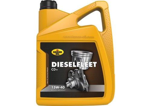 Kroon Oil 15W-40 Dieselfleet CD+ heavy duty motorolie, 5 liter