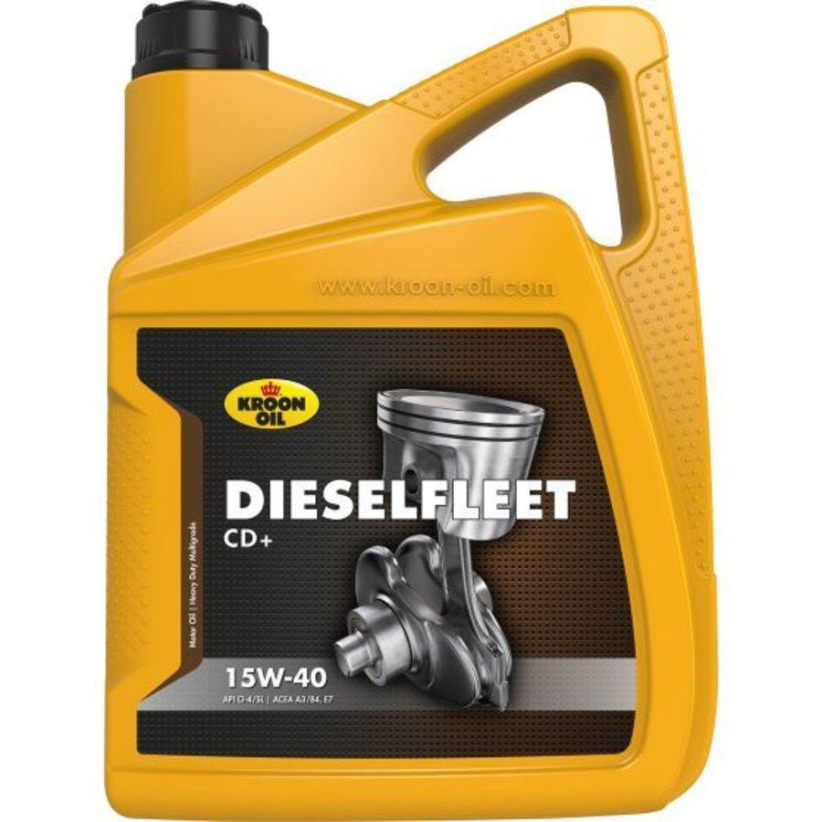 15W-40 Dieselfleet CD+ heavy duty motorolie, 5 liter