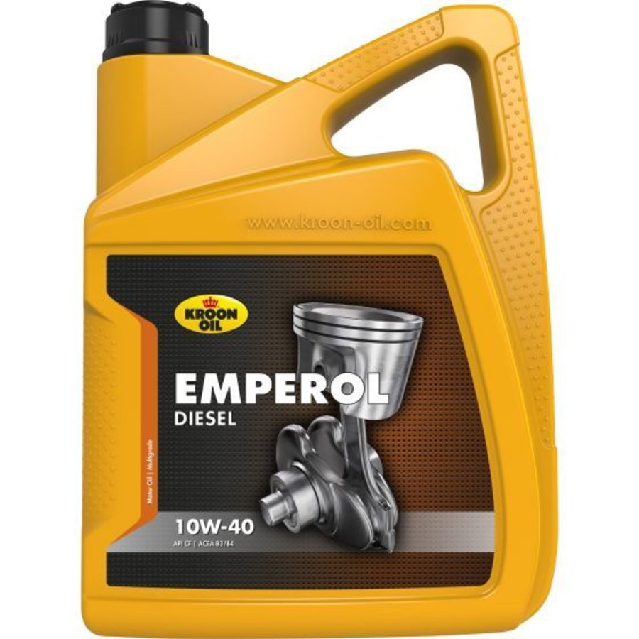 10W40 motorolie Emperol diesel, 4x5 ltr