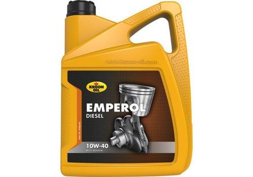 Kroon Oil Motorolie Emperol Diesel 10W40 - 5 liter, 5 ltr