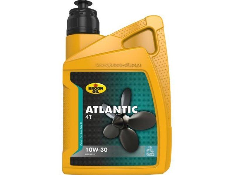 Kroon Oil Atlantic 4T 10W-30 - Buitenboordmotor olie, 12 x 1 lt