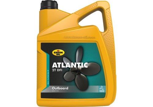 Kroon Oil Atlantic 2T DFI - Buitenboordmotor olie, 4 x 5 lt