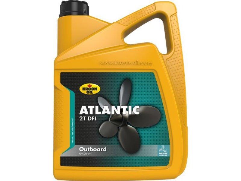 Kroon Oil Atlantic 2T DFI - Buitenboordmotor olie, 5 lt