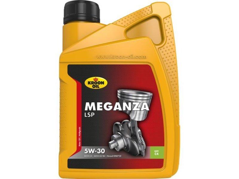 Kroon Oil Motorolie Meganza LSP 5W30, 1 ltr