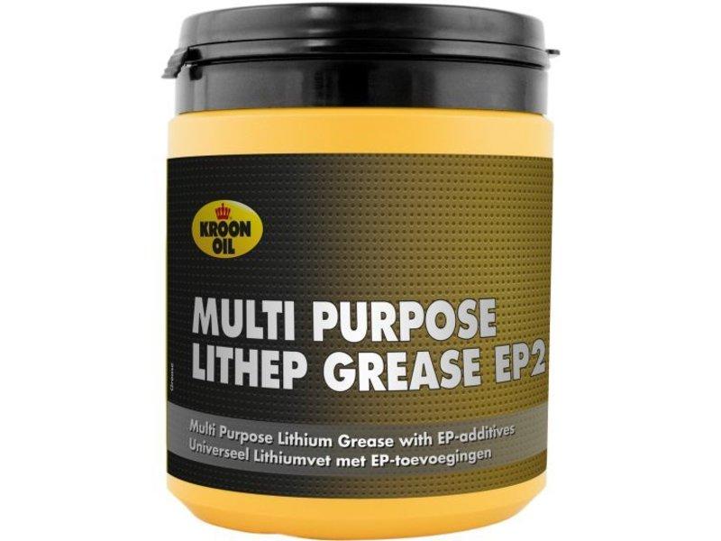 Kroon Oil MP Lithep Grease EP2, 6 x 600 gr pot