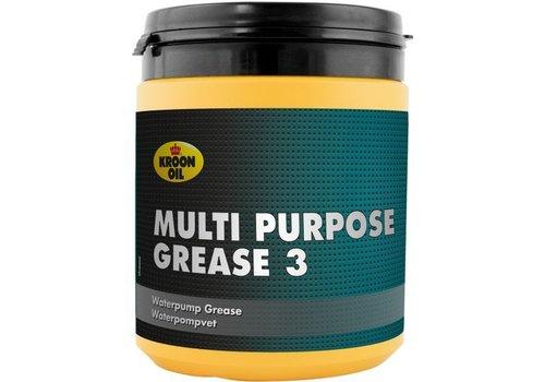 Kroon Oil Multi Purpose Grease 3, 6 x 600 gr pot