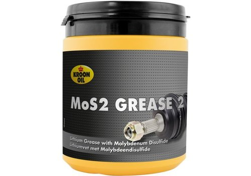 Kroon Oil MOS2 Grease EP 2, 600 gr