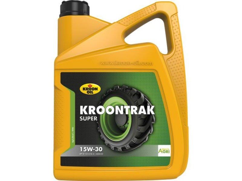 Kroon Oil Kroontrak Super 15W-30 - Super tractorolie, 5 lt
