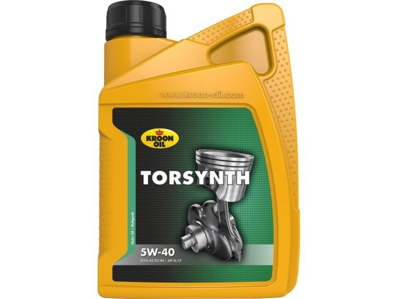 Kroon Oil Motorolie Torsynth 5W40, 1 ltr