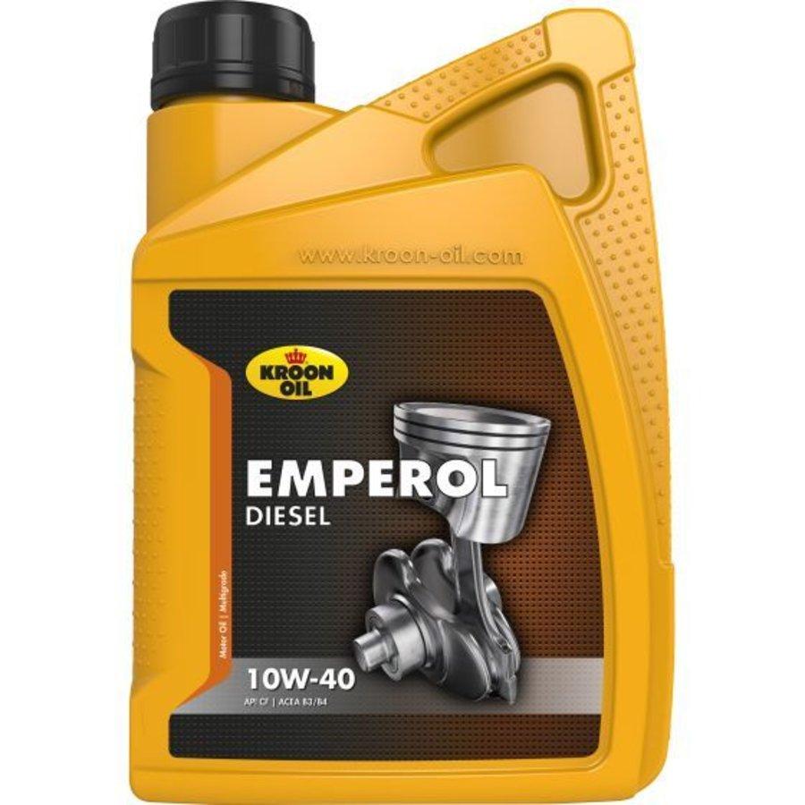 10W40 motorolie Emperol diesel, 1 liter-1