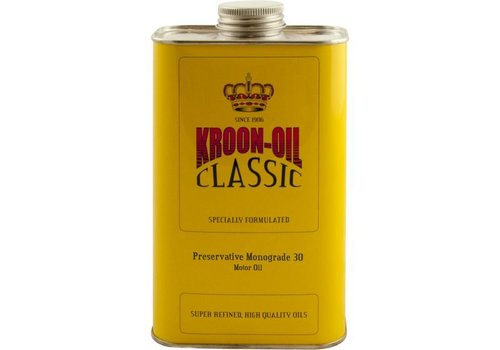 Kroon Oil Preservative Monograde 30 - Motorolie, 6 x 1 lt