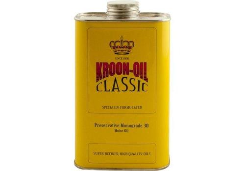 Kroon Oil Preservative Monograde 30 - Motorolie, 6 x 1 lt