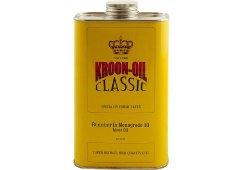 Kroon Oil Running-In Monograde 30 - Motorolie, 6 x 1 lt