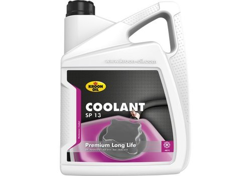 Kroon Oil Koelvloeistof Coolant SP 13, 5 liter