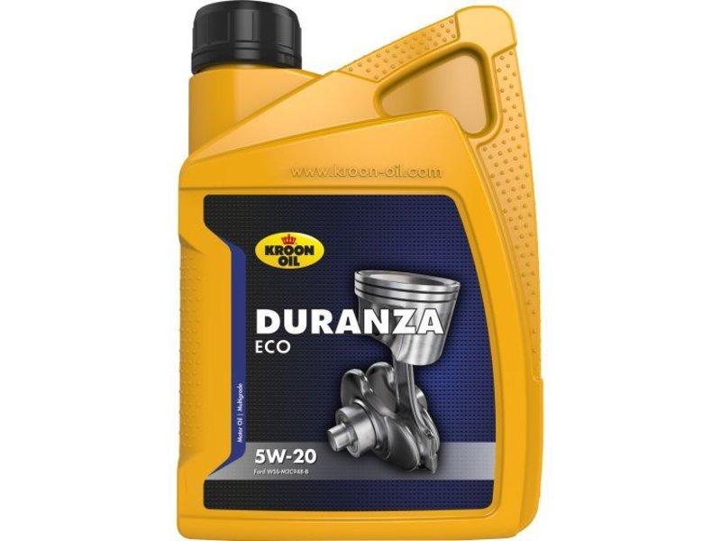Kroon Oil Motorolie Duranza ECO 5W20, doos 12 x 1 ltr flacon