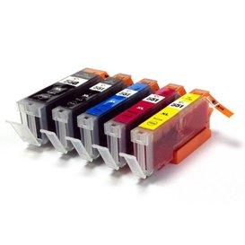 Canon CLI-551/PGI-550 Set Compatible 5 stuks met chip