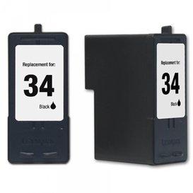 Lexmark Compatibel inktpatroon No.34 Zwart