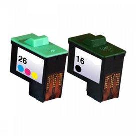 Lexmark Compatibel inktpatroon No.16/26 & 17/27 Combipack