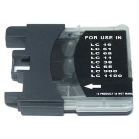 Brother LC1100/LC980 compatible inktpatroon zwart 17 ml