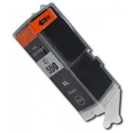 Canon PGI-550BK compatible inktpatroon zwart 25 ml