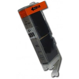 Canon CLI-551GY compatible inktpatroon grijs 11 ml