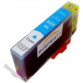 HP 920 compatible inktpatroon Cyaan XL 13 ml.