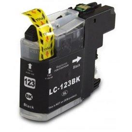 Brother LC123 Huismerk inktpatroon zwart 20 ml