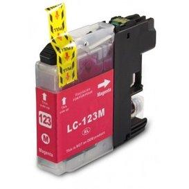 Brother LC123 compatible inktpatroon magenta 10 ml