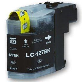 Brother LC127 compatible inktpatroon zwart 30 ml
